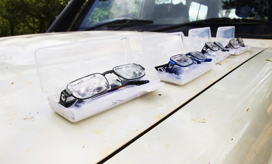 Eyejusters were displayed on the LandCruiser